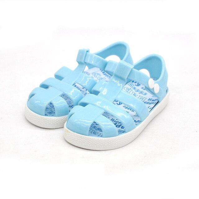 834cd179291150 summer kids Girls sandals shoes beach sandalia cartoon retro Rome jelly  shoes soft children sandals waterproof Zapatos