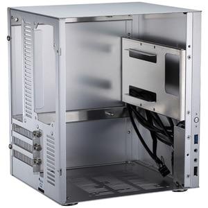Image 5 - Jonsbo C2 Silver Aluminum Mini ITX MATX computer Case USB3.0  game small chassis  C2S Black HTPC ITX Case