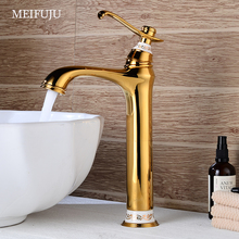 Gold Basin faucet Black Bathroom Faucet Chrome Faucets Sink Water Mixer Tap bath faucets brass wash basin sink
