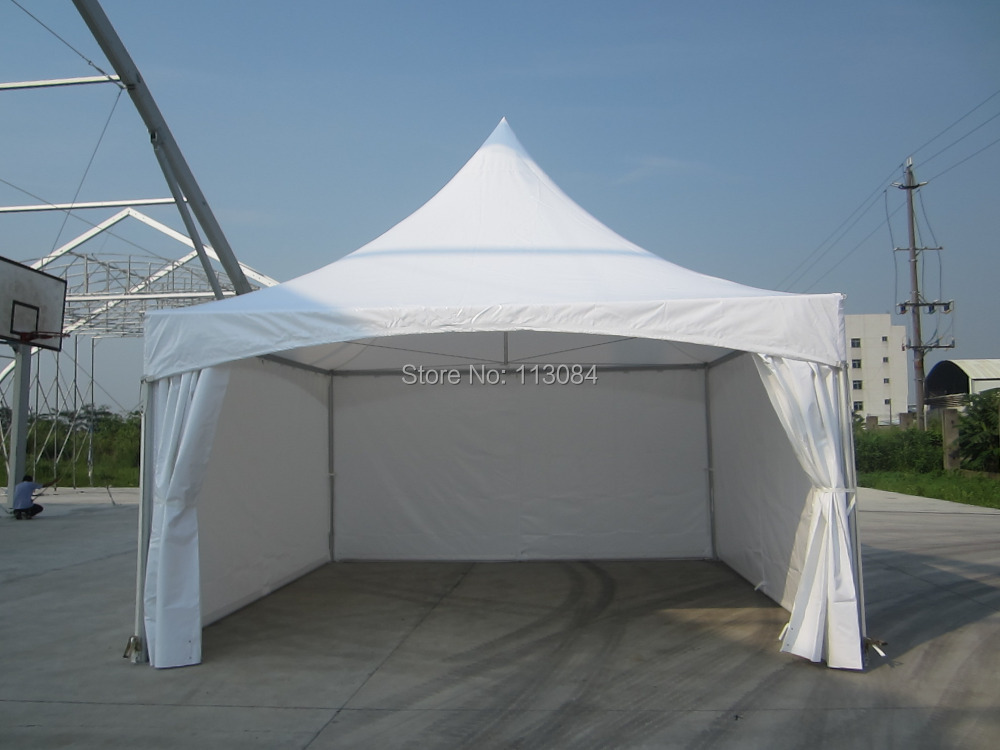 6m x 6m pagoda marquee tent / pinnacle gazebo / tension spring canopy / outdoor awning for wedding and party-in Sun Shelter from Sports u0026 Entertainment on ... & FREE SHIPPING ! 6m x 6m pagoda marquee tent / pinnacle gazebo ...