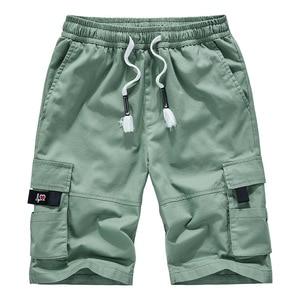 Image 4 - Mens מכנסיים קצרים מטען קיץ Camo קצר ספורט כותנה מכנסי טרנינג גברים הסוואה בתוספת גודל 6XL 7XL 8XL צבאי Corto Pantalon Hombre