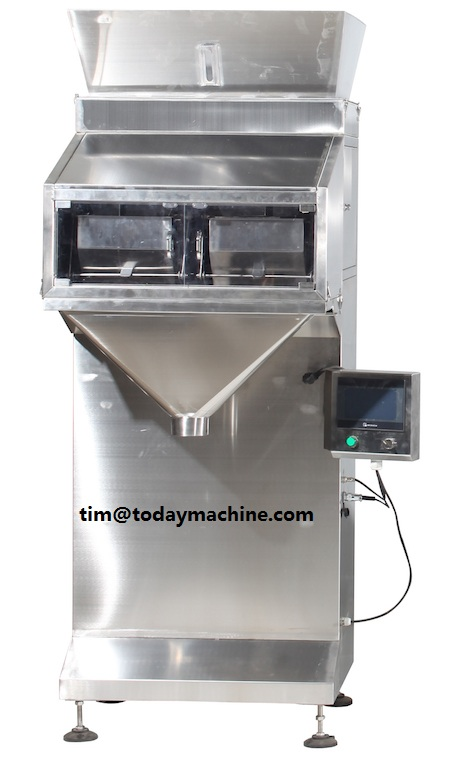 5-999g Large Quantitative Powder Granules Particles Weighing and Filling Machine