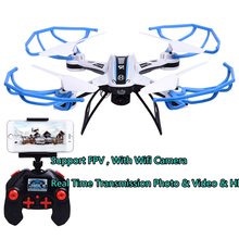 FPV Wifi Remote Control Mini Drone Video Camera 2.4G 4CH 4Axis RC Quadcopter Toy UAV Aerial Helicoptero LED for Children Toys