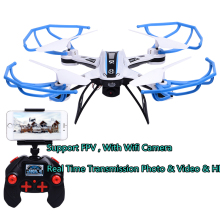 FPV Wifi Distant Management Mini Drone Video Digital camera 2.4G 4CH 4Axis RC Quadcopter Toy UAV Aerial Helicoptero LED for Youngsters Toys