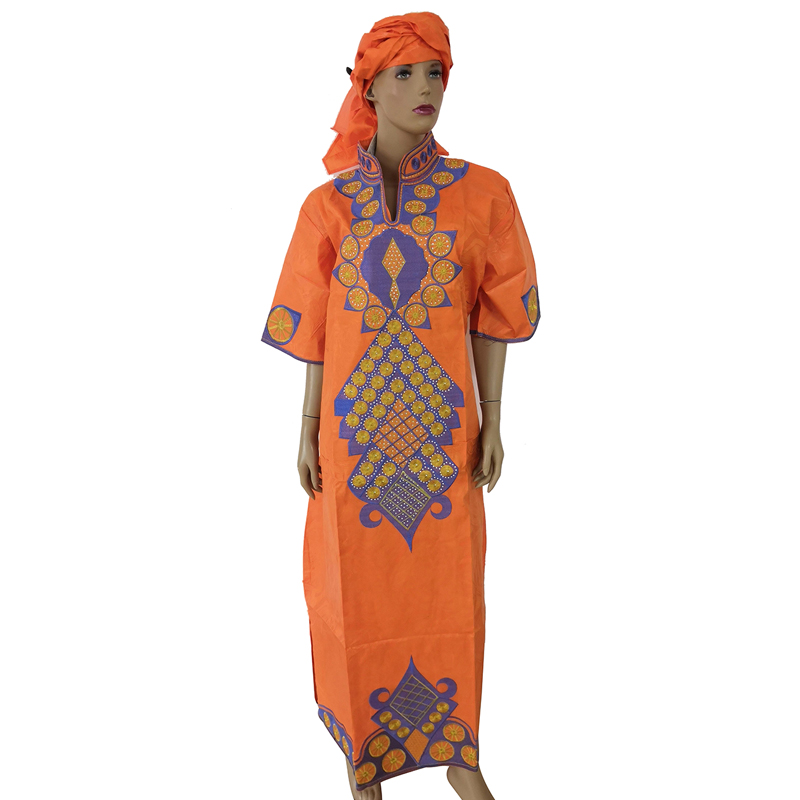 MD plus size african dresses for women bazin riche africa dress traditional african long dress 2019 new womens african clothing in Africa Clothing from Novelty Special Use