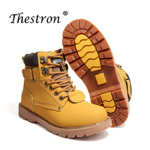 New High Quality Lovers Working Safety Boots Couples Brand Comfortable Inside Velvet Mens Ankle Winter Shoes Size35-46 Snow Boot