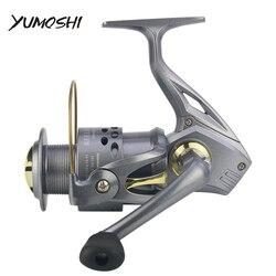 Yumoshi nowe koła 2018 spinning wędkarstwo kołowrotek 5.2: 1 13BB 2000-7000 serii kołowrotek wędkarski koła pesca morze przynęty połowów kołowrotki CT