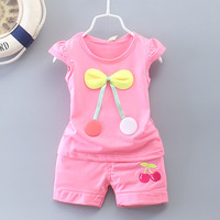 Summer 2016 New Baby Girls Clothes In Paragraph 0 12 Months 0 2 Years Old Baby
