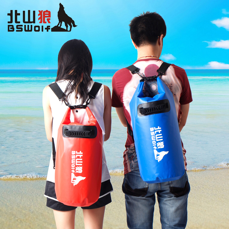 20l New Portable Waterproof Bag Storage Dry For Canoe Kayak Rafting Sports Outdoor Camping Travel Kit Equipment Blue Red In Kits From