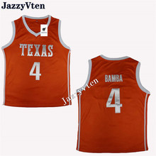 c4717345a Jazz Vaiten 2018 New Arrived  4 Mohamed mo Bamba Texas college basketball  jersey all size