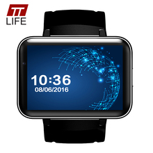 TTLIFE Lage Dial 900MAH Smart Watch Phone Waterproof Bluetooth 4.0 WIFI Smart Watches GPS HD Heart Rate Monitor For Android Ios