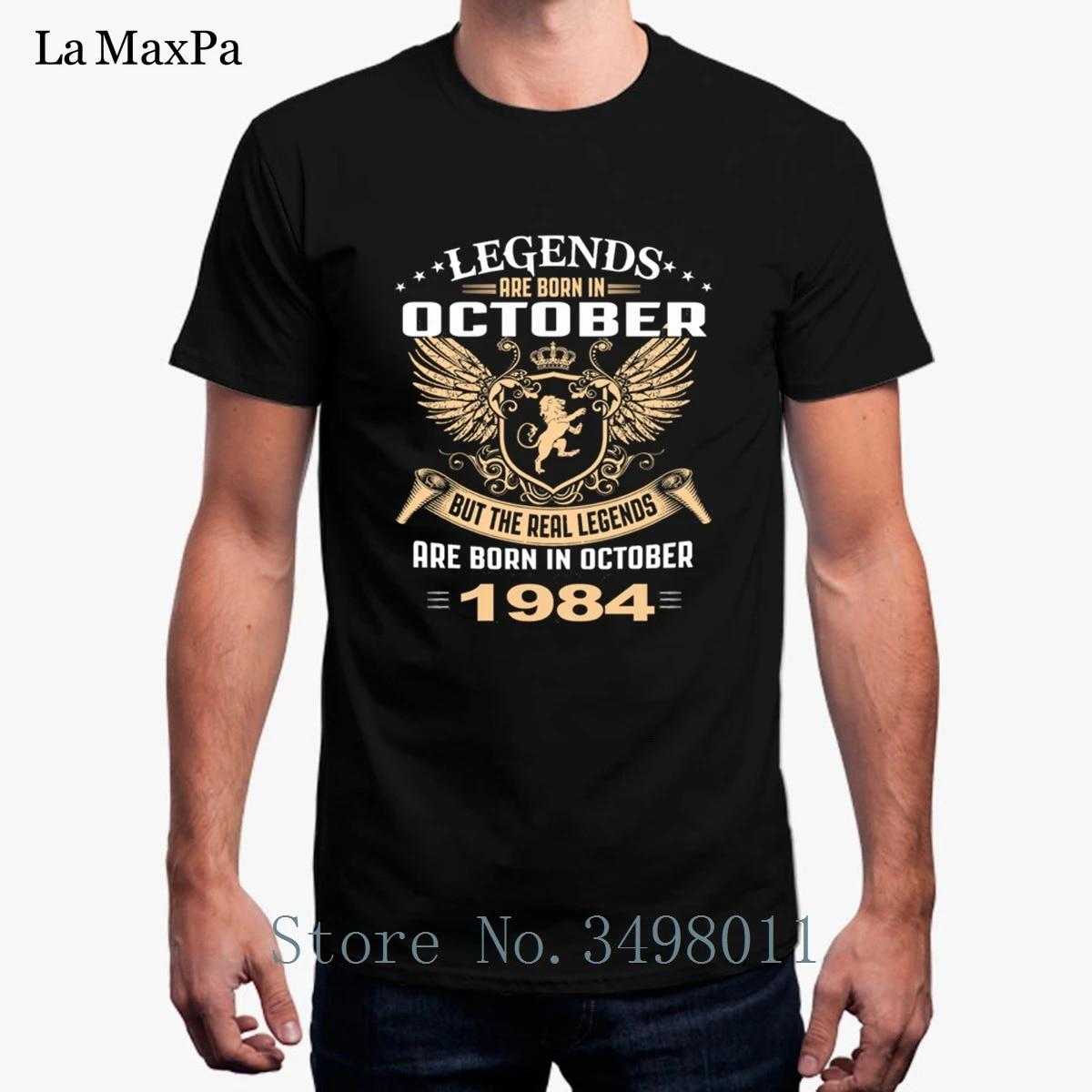 Camiseta Barata Para Hombre Camiseta Legends Are Born In October 1984 Camiseta Unisex De Cuello Redondo Chulas De Hombre Camisetas De Tallas Grandes Para Hombre T Shirt Men T Shirtmen T Shirt Aliexpress