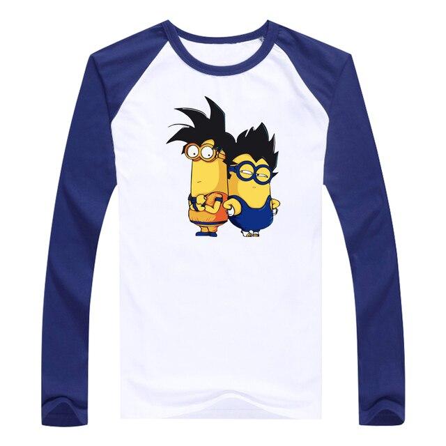 Ball Z Men women Dragon Ball Z T Shirt Vegeta Goku cotton long sleeves Tops Fashion Clothing Tees Plus for women men T-shirt
