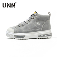 UNN 2017 New Women Athletic Shoes Winter Black Shoes Running Women Height Breathable Ladies Sport Shoes