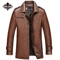 Mens Leather Biker Jackets Autumn Winter Faux Leather Clothing Men's Leather Jackets Male Casual Overcoat Men Biker Jacket Coats