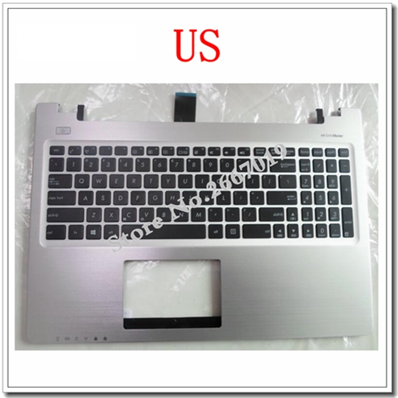 US New FOR ASUS K56 k56C K56CB K56CM K56CA A56 A56C S56C S56 Replace laptop keyboard With C shell