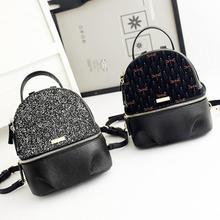 Lodogsow Элитный бренд красочный рюкзак Стрекоза мини с пайетками рюкзак школьные сумки для девочек маленькое путешествие рюкзак женская подарок
