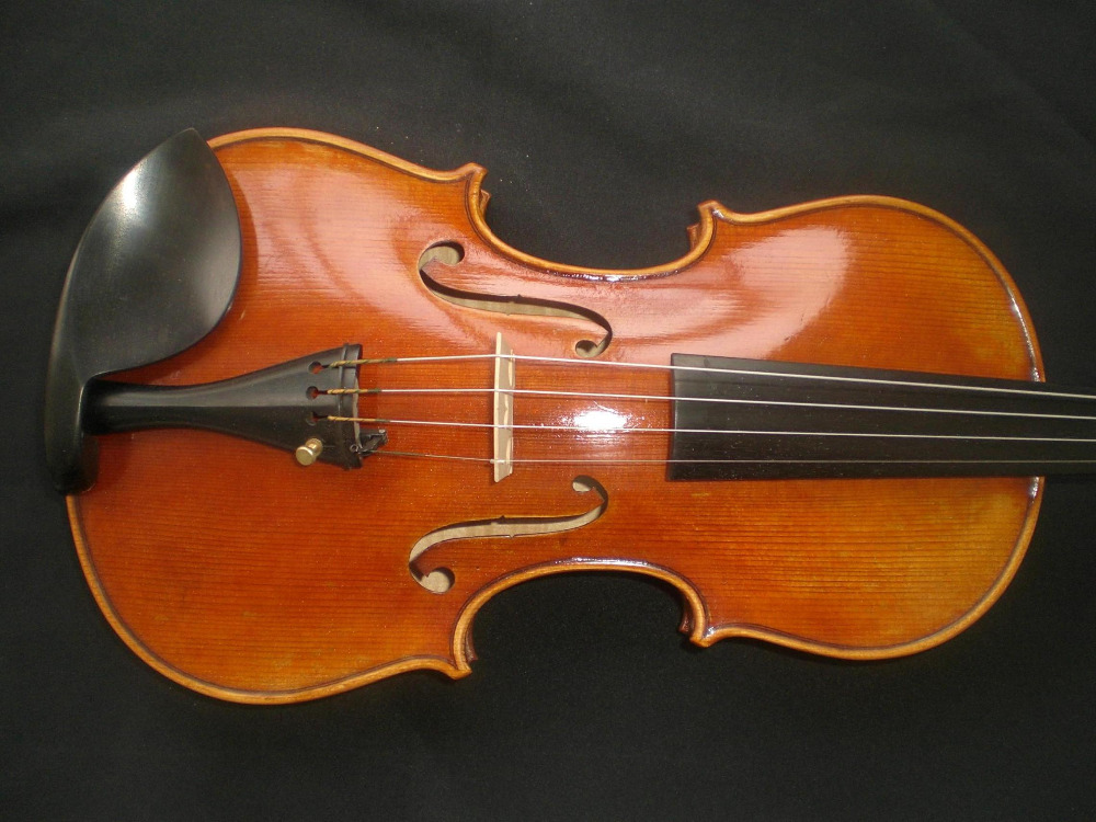 Nice Quality Painted Violin with Nice pattern European Spruce and Maple with Ebony Accessories 4/4 austrian spruce ch j b collion mezin copy french master violin no 1408 nice sound antique violin100% handmade