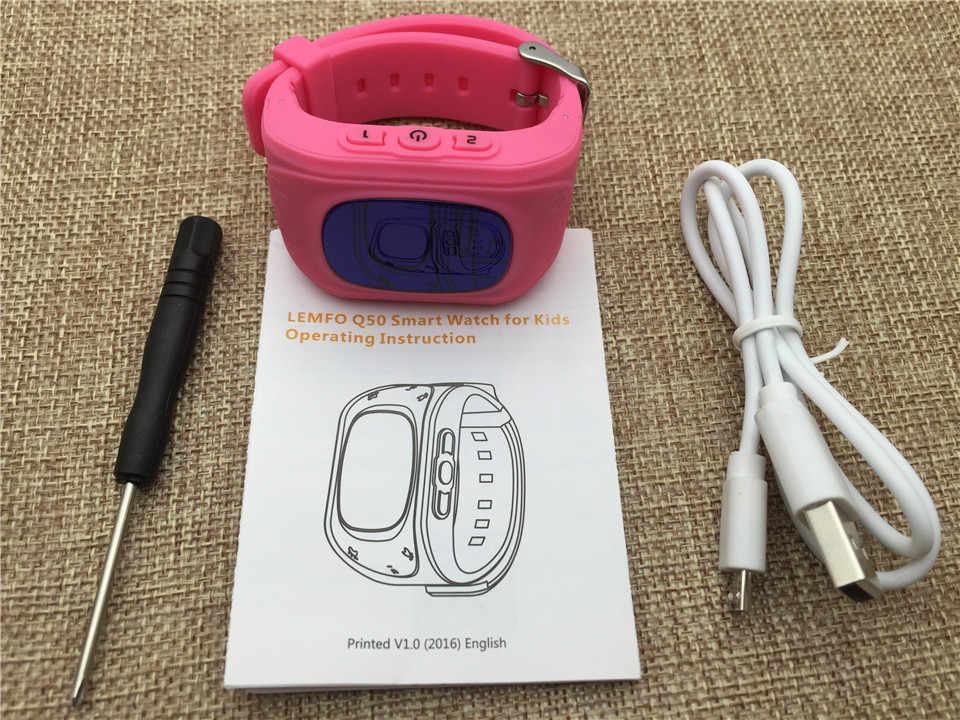 Slimy เด็ก GPS สมาร์ทนาฬิกา Q50 2G ซิมการ์ด Chat Anti - lost SOS Remote เด็กความปลอดภัยสุขภาพ helper สำหรับเด็ก Smartwatch