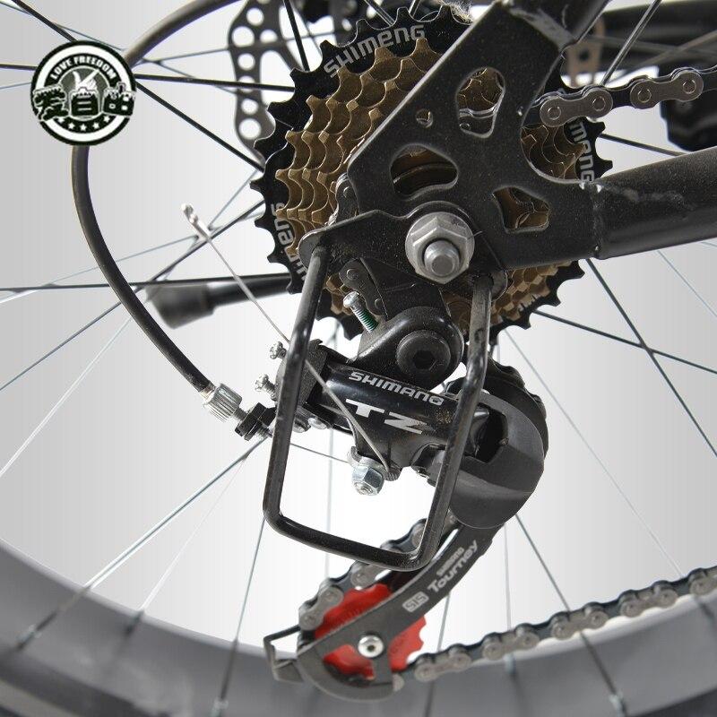 Amor libertad 7/21/24/27 velocidad bicicleta de montaña 26*4,0 neumáticos de grasa amortiguadores bicicleta entrega gratuita nieve bicicleta - 6