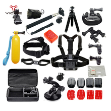 Accessories Bundle Suction Cup Strap Mount Tripod for Gopro Go pro Hero Session 5 SJ4000 SJCAM Xiaomi Yi 4k Sony Action Camera