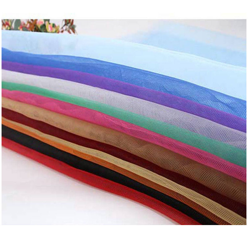 Wedding gauze the cloth Net Fabric flat roll fabric 45 meters/pack polyester Double line Wholesale Net yarn Double wire M021