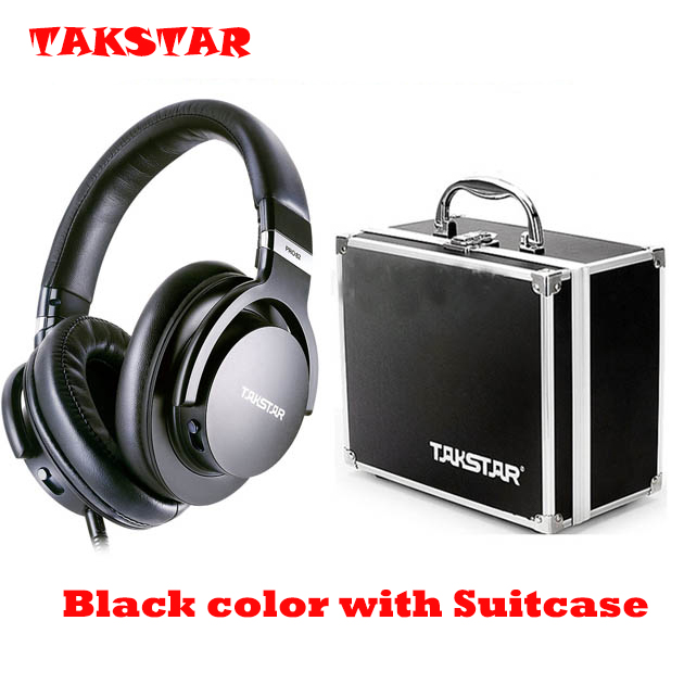 2017 Takstar PRO82 Genuine Headphone Stereo Dynamic Closed Hifi Earphone Adjustable Bass DJ Headset Studio Monitoring Headphones gorsun gs a552 wired dynamic stereo bass headset headphone black red