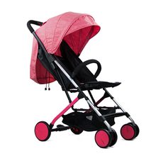 Sallei four wheel baby stroller light child folding small portable mini baby wheelbarrow baby star