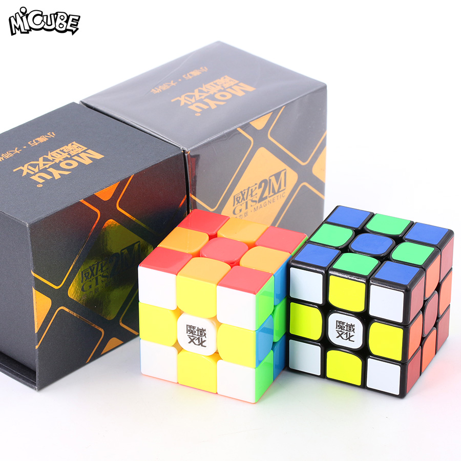 Micube Moyu 3X3X3 Magnetic Magic Speed Cube Puzzle 3x3