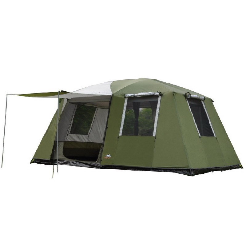 Danchel Outdoor Family Tent Double Layer Waterproof Two