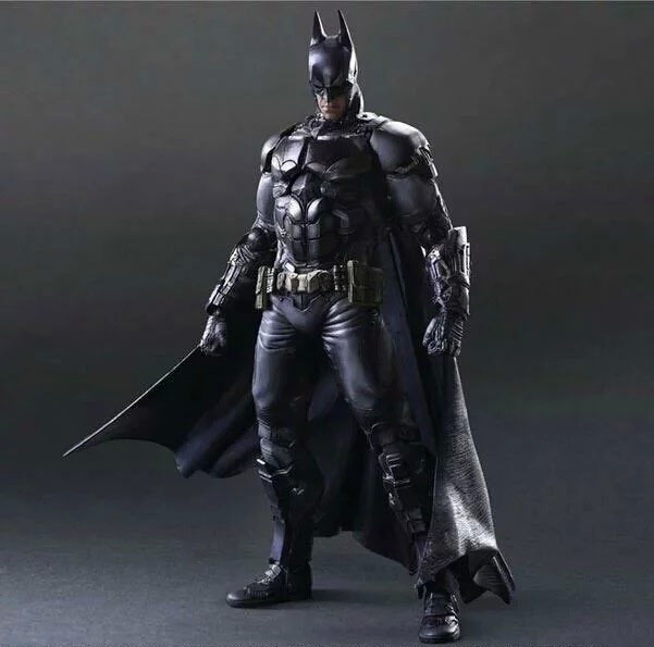 Free Shipping 11 PA KAI DC Hero Batman Arkham Knight Ver. Boxed 27cm PVC Action Figure Collection Model Doll Toy