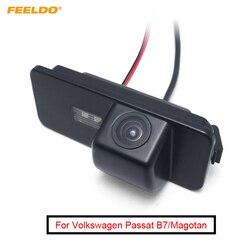 FEELDO 1 Conjunto Visão Traseira Do Carro Câmera de Estacionamento Para Volkswagen Passat B7/Magotan/Golf/Phaeton/Passat CC/Scirocco/Polo/Superb