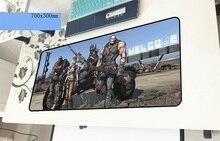 Borderland геймерский коврик для мыши 700x300x3 мм игровой коврик для мыши большой мультфильм ноутбук аксессуары ноутбук padmouse эргономичный коврик
