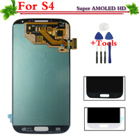 Super AMOLED HD LCD For Samsung Galaxy S4 I9505 I9500 I337 I9506 LCD Display Touch Screen