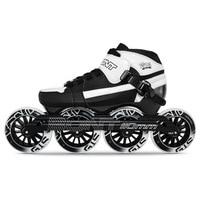 100% Original Bont Pursuit 3PT Package Speed Inline Skates Heatmoldable Carbon Fiber Boot 4*90/100/110mm Wheels Skating Patines