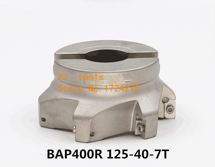 New 1pcs BAP400R 125 40 7T right angle shoulder face mill cutter,Face Mill Shoulder Cutter For Milling MachineNew 1pcs BAP400R 125 40 7T right angle shoulder face mill cutter,Face Mill Shoulder Cutter For Milling Machine