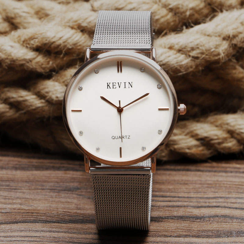 Hot Sale! High Quality Women Dress Watches Fashion silver Band Top Luxury Brand Ladies Watch Marble Mirror Quartz Hand Clock Q13 burei 2017 top brand men women dress quartz watch new hand couples table canvas fashion casual clock wristwatch hot sale gift