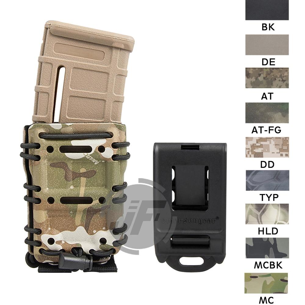 1//2//5Pcs Adjustable Belly Waist Band Pistol Gun Holster BK w// 2 Magazine Pouches