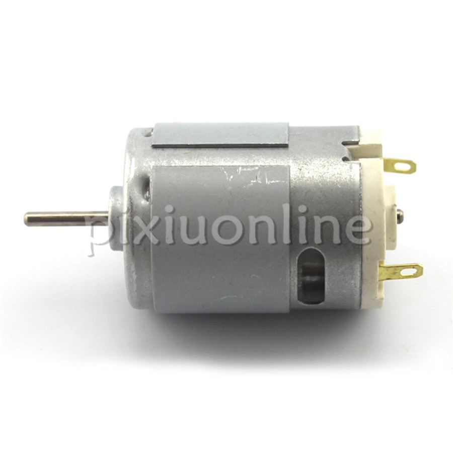 1pc J710 3.6V Model 380 DC Motor 6V 11500rpm 1.08A DIY Model Making Parts Free Shipping Russia Pakistan
