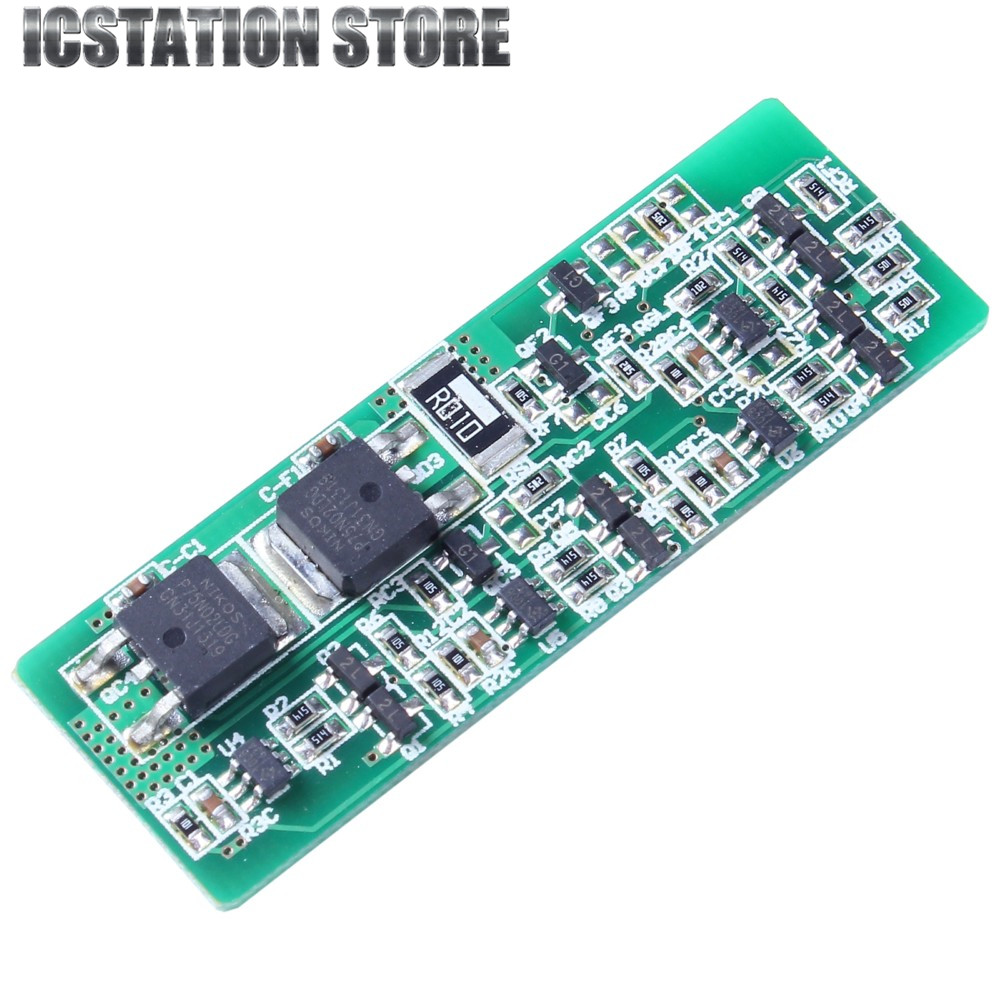 2pcs 4S 8A Li-ion Lithium Battery Charger Protection Board 3.7V 14.8V 4 Serial PCB Charging Protection Module xh m603 li ion lithium battery charging control module battery charging control protection switch automatic on off 12 24v