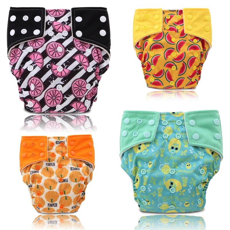 JinoBaby Fruit Aio Luierdoekluier - Moderne doekluiers De beste zorg - Luiers en zindelijkheidstraining - Foto 6