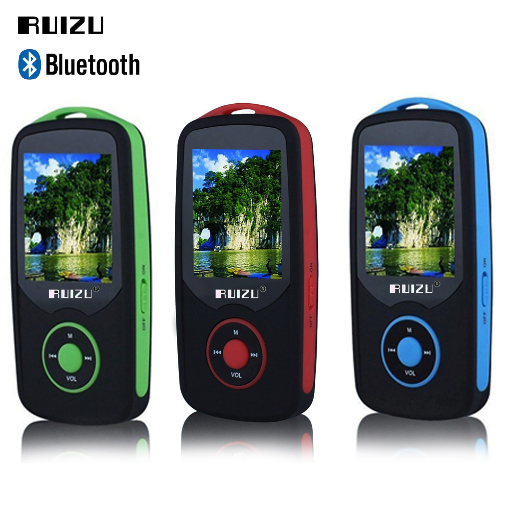 Factory Price RUIZU X06 MP3 Player 8GB Bluetooth Sports ...