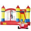 YARD Inflatale Слайд Отказов Дом Мини Tranpoline Прыжки Замок для Детей Дворе с Вентилятором