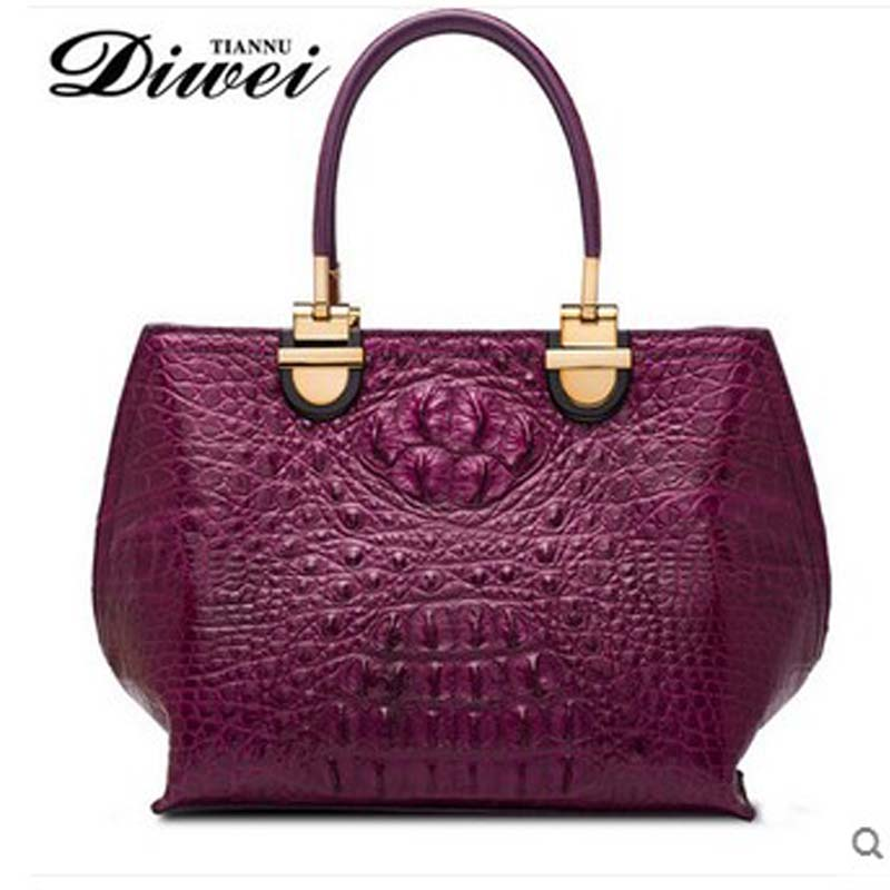 diwei 2018 new hot free shipping thailand import crocodile women fashion leisure female single shoulder bag handbag yuanyu 2018 new hot free shipping crocodile women handbag wrist bag big vintga high end single shoulder bags luxury women bag