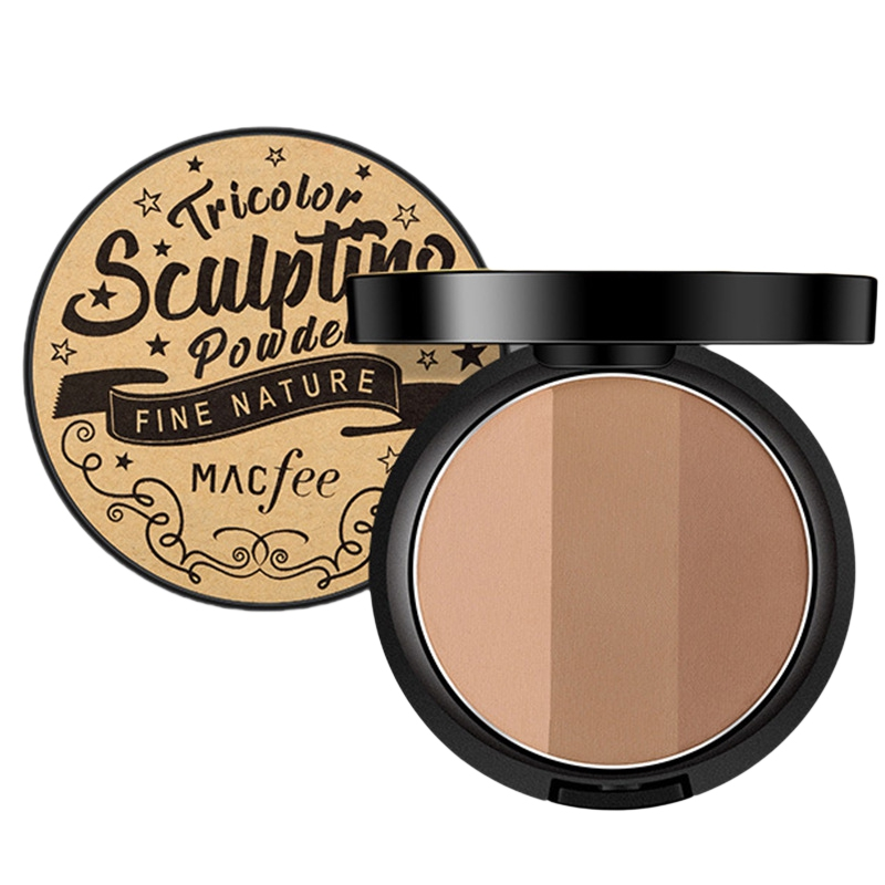 Natural 3 Colors Concealer Powder Palette Highlighter Base Contour Facial Cream Bronzers Cosmetic Face Make Up Maquiagem