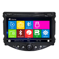 Best stable double din 8 inch Car radio DVD GPS  for Chevrolet Aveo 2014 car dvd player with steer wheel control RDS free map