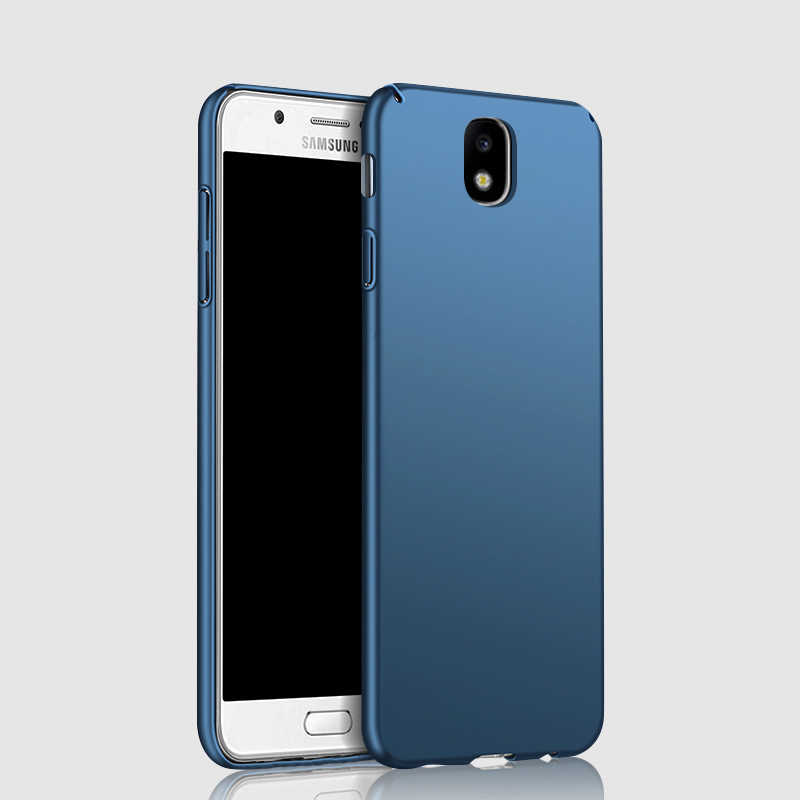 official photos 4a72c 739a5 For Samsung Galaxy J7 2017 Case 360 Protection Slim Matte Hard Back Cover  For Samsung J7 Pro J3 J4 J6 J8 2018 Phone Cases