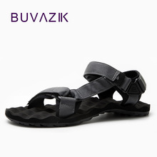 BUVAZIK  summer for 2018 men's EVA Injection shoes light and watherproof  sandals men Wear-resistant canvas casual shoes