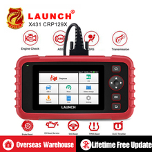 Launch Professional Scanner Crp129 Launch Car Code Reader Update Online 4 Systems EPB SAS Oil Light resets Car Diagnostic Tool 2018 original xtool ps2 gds gasoline version professional car diagnostic tool ps2 gds free update online without plastic box