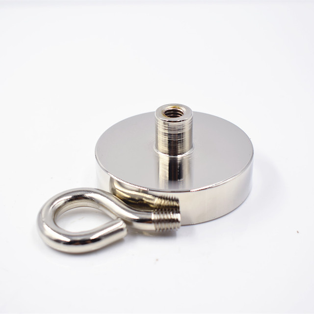 1pc Neodymium magnet super strong powerful Circular Ring salvage magnetic fishing permanent NdfeB hook holder sea equipment